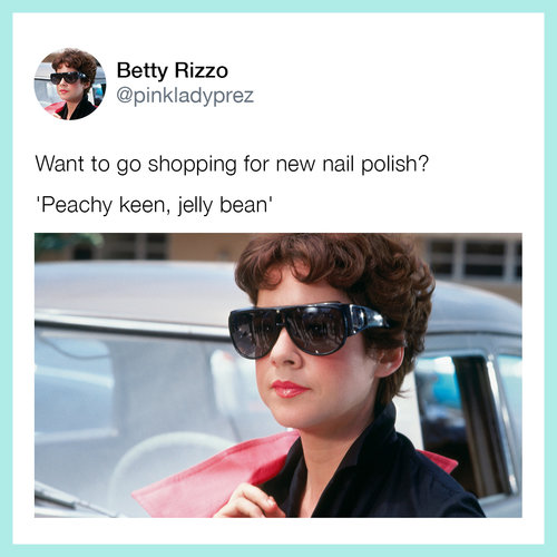OPI Blog: Life Lessons from Grease