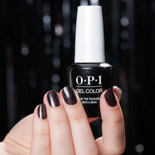 Top the Package with A Beau, OPI, HOliday, GelColor