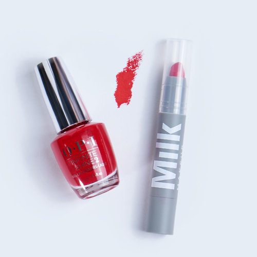 OPI, Blog, Beauty Tips, Holiday, Lipstick, My Wish List Is You, Milk OG Red