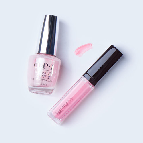 "OPI, Blog, Holiday, Beauty Tips, The Color That Keeps On Giving, Infinite Shine, Icons, Laura Mercier, ""Lip Glace Azalea"""