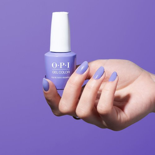 OPI, Blog, Pantone, Color of the Year, Ultra Violet, You're Such A Budapest, GelColor