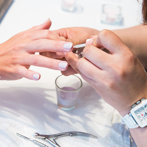 The Polish Nail Lounge prides itself on sanitation and cleanliness