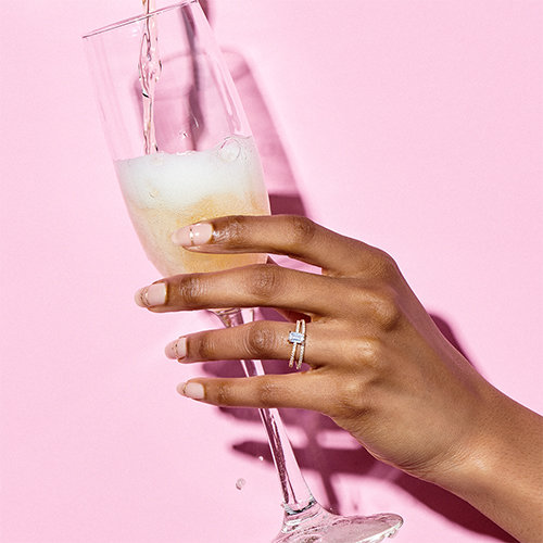 Wedding Nails - The 5 Designs You Need to Try Now: Band of Gold