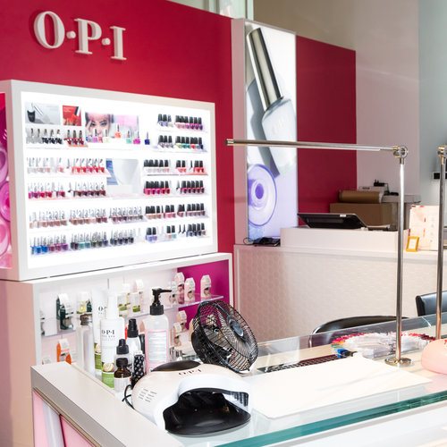 Book an Appointment today at OPI x GHD in Bloomingdale's