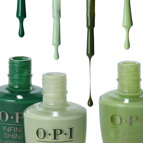March Trending Shades: Green Nail Polish