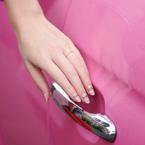 Discover Negative Space Nail Art