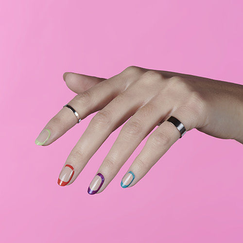 Trending Nail Art for Spring: Negative Space