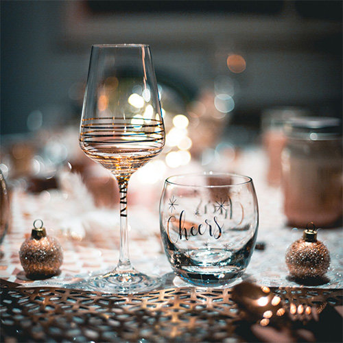Gifts for the Host: Think Festive