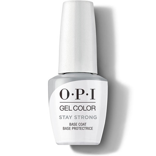 The New OPI GelColor Stay Strong Base Coat