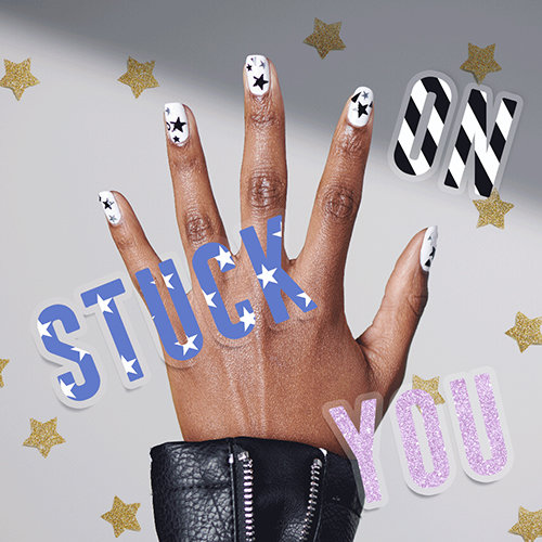 2019 Nail Art Trends: Stuck on You