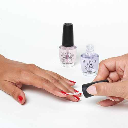 Don't forget the top coat!