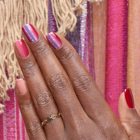 Ombre Nail Art: Andes Candies