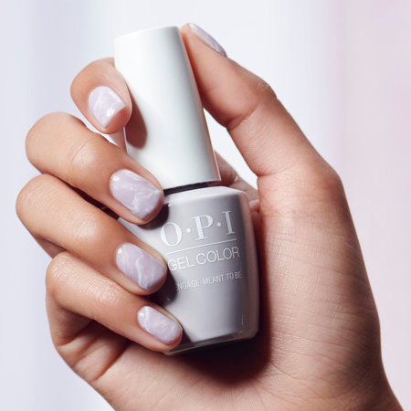 Minimal Nail Art: Smoke Quartz