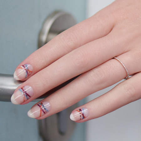A Walk Down the Royal Mile Pro Nail Art Look