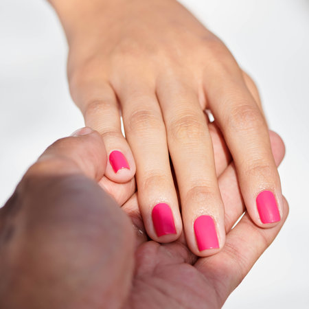 OPI Pro Tips Checking Client's Cuticles