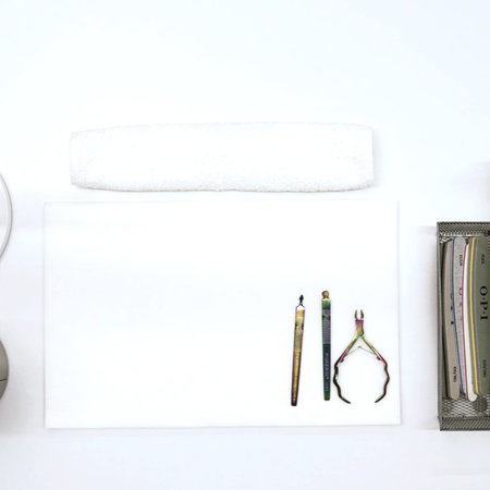 Manicure Table Top Set Up