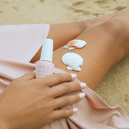 OPI Pro Nail Art Look: Swell of Shells