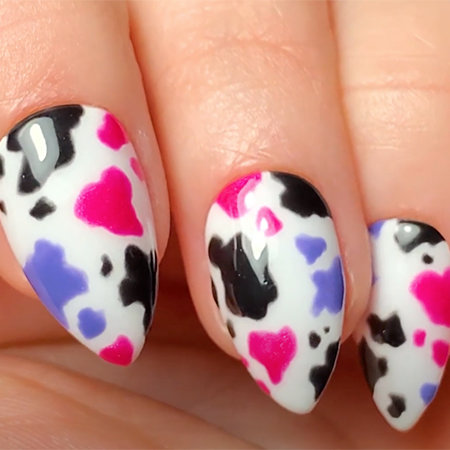 OPI Pro Nail Art Look: Udderly Adore You