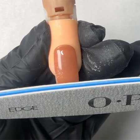 OPI Pro Tips: How to File for Straight Sidewalls