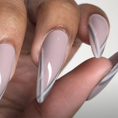 OPI Pro Nail Art Look: Get Your Point Across