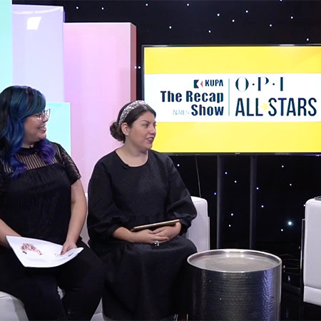 OPI Next Top Nail Artists Recap Show Ep 1