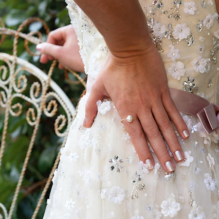 Neo-Pearl Collection Wedding Nails