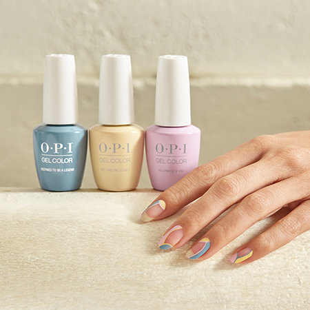OPI Pro Nail Art Look: Poolside Daydreams