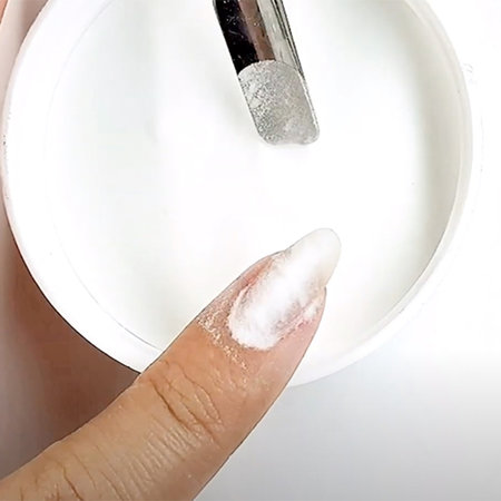 See the Pro Tip: How to Strengthen a Gel Manicure