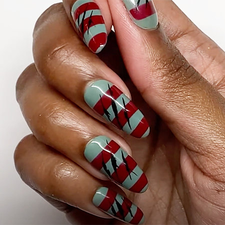 OPI Pro Nail Art Look: Try Not To Claw Asleep...