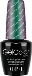 Peace & Love & OPI - GelColor - OPI