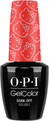Hello Kitty by OPI, hello kitty nail polish, hello kitty gelcolor, hello kitty gel polish, new nail polish