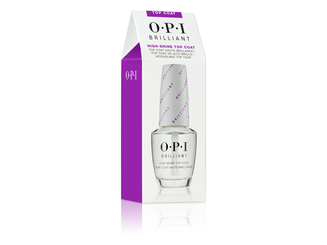 OPI, Brilliant Top Coat, Nail lacquer top coat, nail polish top coat