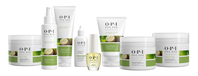 OPI ProSpa manicure and pedicure skincare product kit for hands and feet