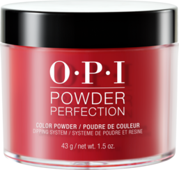 OPI Powder perfection dipping powder product in shade The Thrill of Brazil