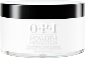 OPI Powder perfection dipping powder product in shade Alpine Snow