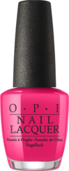 OPI California Dreaming Summer Collection bright pink nail polish GPS I Love You