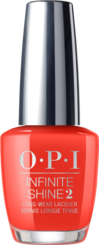 OPI California Dreaming collection red orange nail polish infinite shine formula Me, Myselfie & I