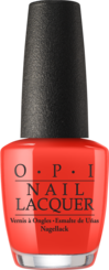OPI California Dreaming Summer 2017 Collection red orange nail polish Me, Myselfie & I
