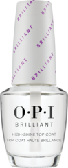 OPI, Nail treatments, top coat, brilliant