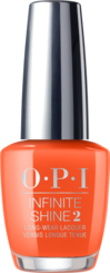 OPI California Dreaming collection orange peach nail polish infinite shine formula Santa Monica Beach Peach