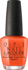 OPI California Dreaming collection orange nail polish Santa Monica Beach Peach