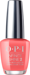 OPI California Dreaming collection coral peach nail polish infinite shine formula Time for a Napa