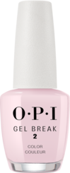 OPI, gel break system, nail treatment, properly pink