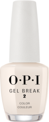 OPI, gel break system, nail treatment, properly barely beige