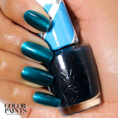 ColorPaints by OPI | Turquoise Aesthetic