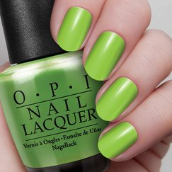 My Gecko Does Tricks Image, OPI gelcolor, GelColor, Gel Color, Nail Polish , Nail Lacquer