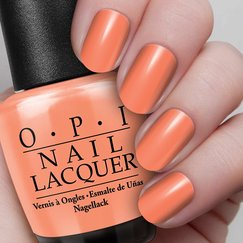 Is Mai Tai Crooked? Image, OPI gelcolor, GelColor, Gel Color, Nail Polish , Nail Lacquer