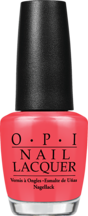 Red Lights Ahead...Where? - Nail Lacquer - OPI