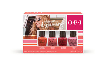 California Dreaming collection nail polish mini 4 pack