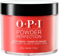 OPI Powder perfection dipping powder product in shade A Good Man-darin is Hard to Find